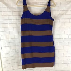 Anthropologie - Greylin 100% silk Striped Dress